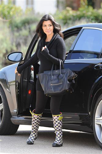 Hunter rain boots celebrity fashion