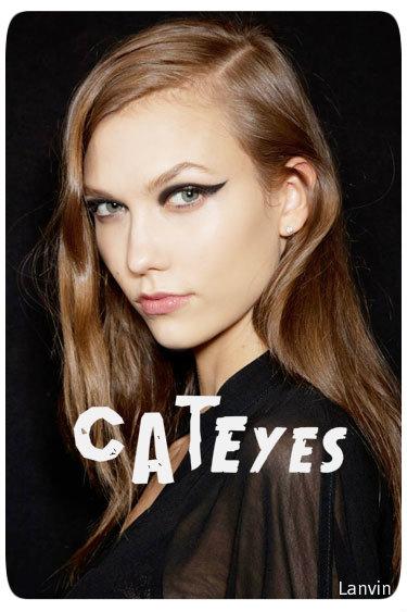 Cat eyes Beauty trends 2012 stylepoohbahs