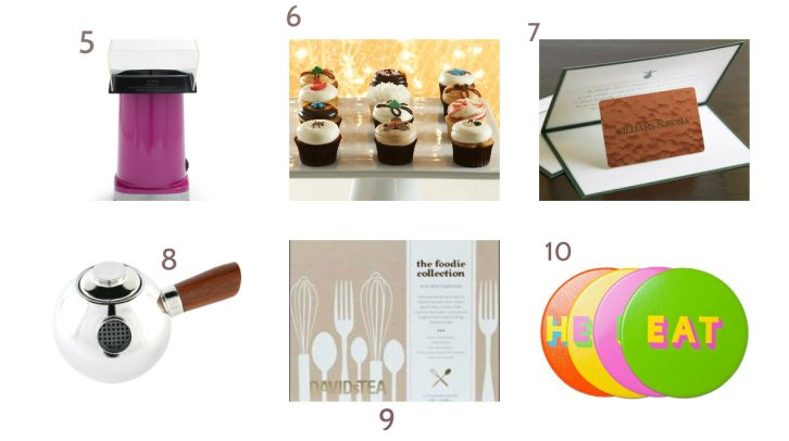 Holiday Gift ideas for foodie 2