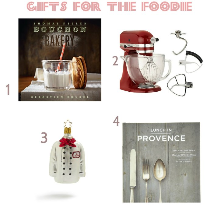 Holiday Gifts for the foodie 1