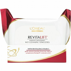Revitalift Radiant Smoothing Wet Cleansing Towelettes