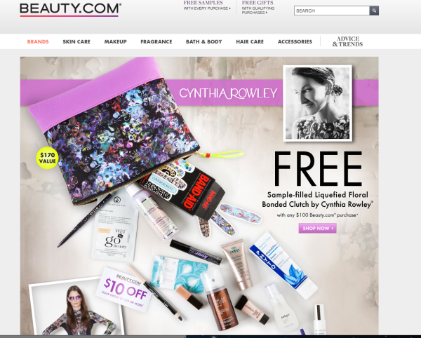 cynthia rowley beauty.com