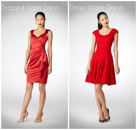 Maggy London red dress sp