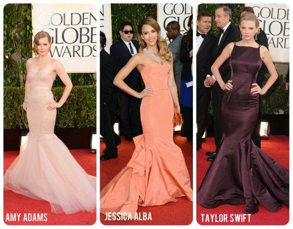 mermaid shapes trends golden globes style pooh-bahs