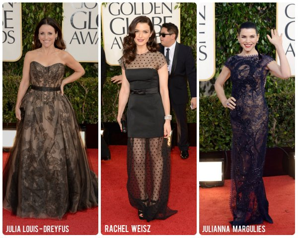 Nude tone gowns golden globes sp