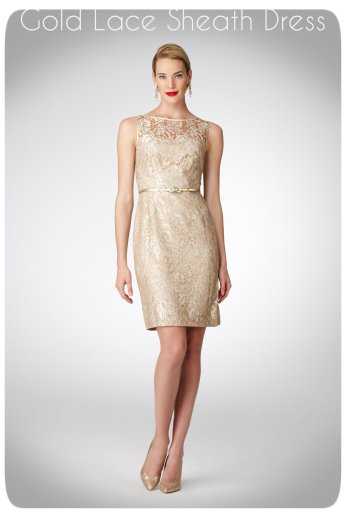 stylepoohbahs gold lace dress sp