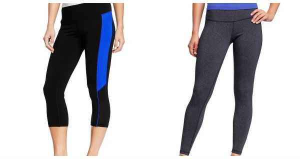 fitness bottoms old navy