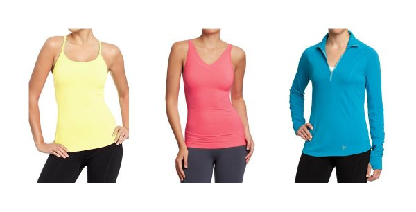 old navy fitness tops