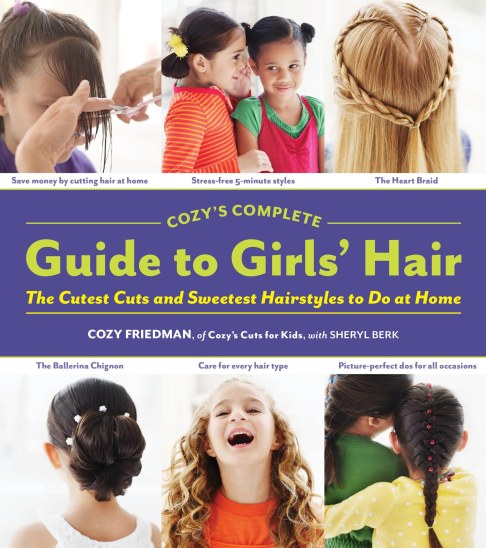 Cozy's Complete Guide to Girls Hair - Jacket Cover