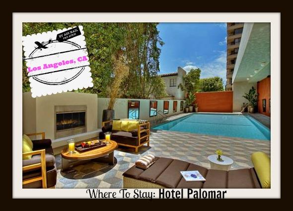 Hotel Palomar La Westwood Review