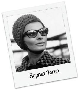 SL in cat eye glasses