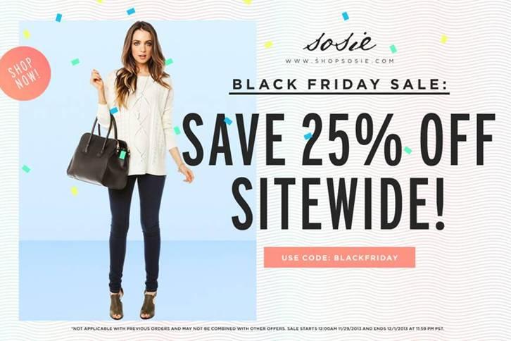 Black friday clothing deals online