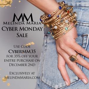 Melinda Maria Cyber Monday
